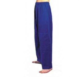 Judohose blau, Elastikbund