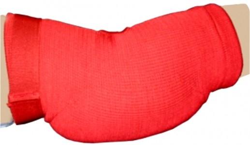 Ellenbogenschoner gepolstert rot