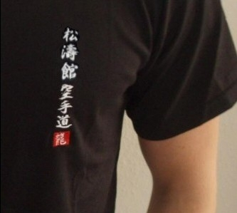 Budodrake T-Shirt schwarz Shotokan Karate-Do