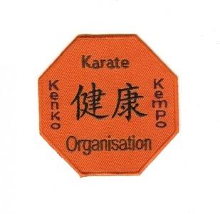 Aufnäher Kenko Kempo Karate Organisation