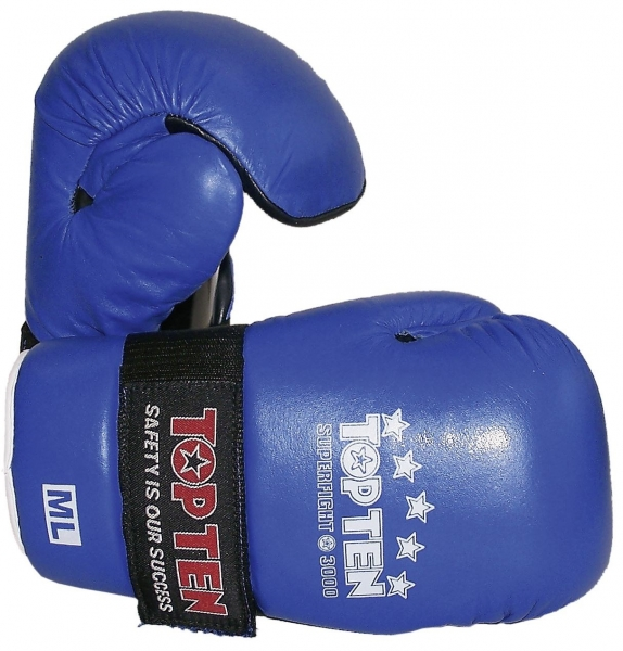 "TOP TEN SEMIKONTAKT Handschuh ""POINTFIGHTER"" blau"