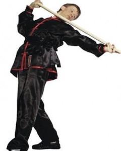 HAYASHI Tai Chi / Wushu Uniform schwarz-rot