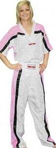 TOP TEN Kickboxjacke weiß-pink