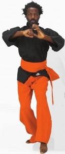 Kung Fu Hose orange