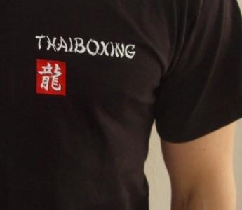 Budodrake T-Shirt schwarz Thai-Boxing