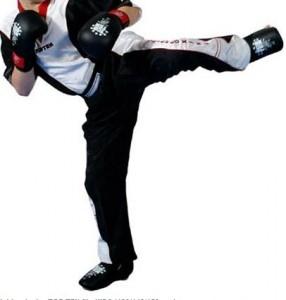 TOP TEN Kickbox Jacken schwarz/weiß