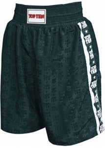 TOP TEN Boxhose trunks schwarz