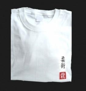 Budodrake T-Shirt weiß Ju Jutsu