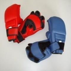 Allround Handschutz Kunstleder rot