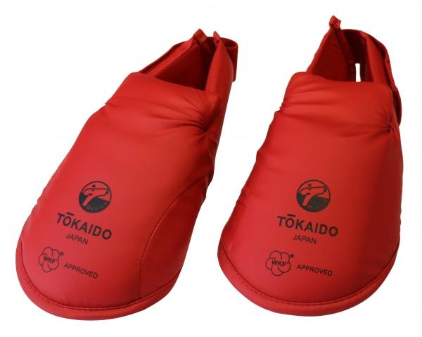 Tokaido Fußschützer WKF / rot